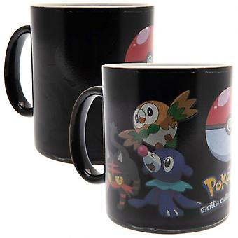 Pokemon Heat Changing Mug Catch Them All