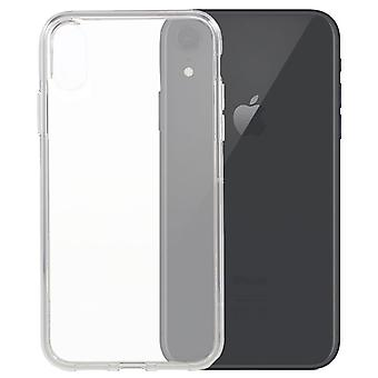 iPhone XR-Transparente Silikathülle