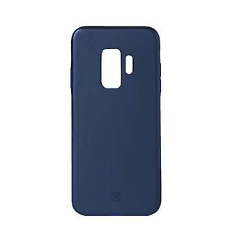 Celly Magnetic Ghost Backcover Hoesje Samsung Galaxy S9 - Donkerblauw