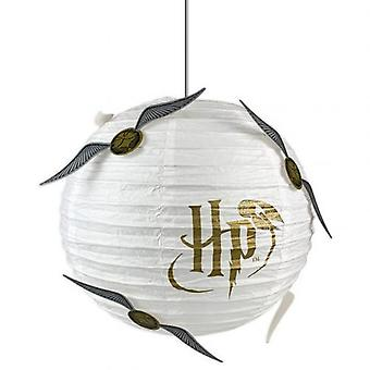 Harry Potter Paper Light Shade Golden Snitch