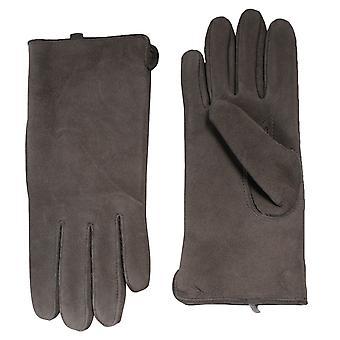 Nordvek Smooth Suede Leather Gloves With Sheepskin Inner 319-99