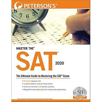 Master the SAT 2020 by Peterson's - 9780768944006 Book