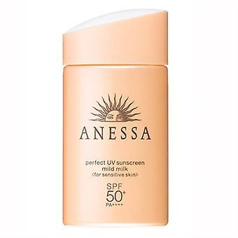 Shiseido Anessa perfekte UV milde Milch empfindliche Haut SPF50 + 2oz / 60ml