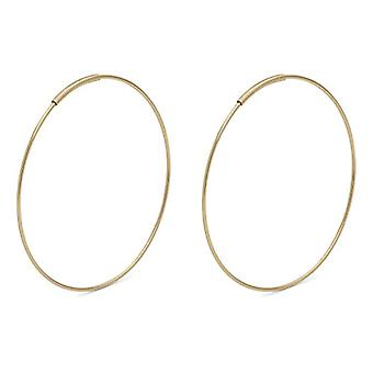 Pilgrim Gold-plated Women's Hoop Earrings - 621832003