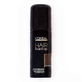 Loreal Hair Touch Up Spray Light Brown 75ml
