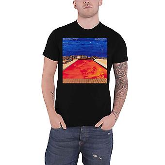 Red Hot Chili Peppers T Shirt Californication Band Logo new Official Mens Black