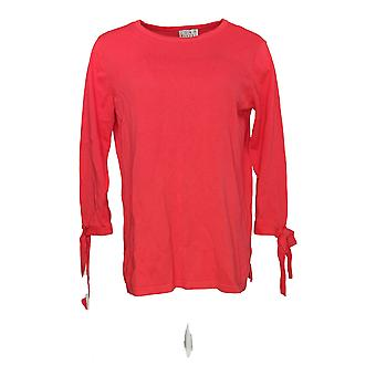 Joan Rivers Classics Collection Women's Sweater 3/4 Sleeve Pink A302700