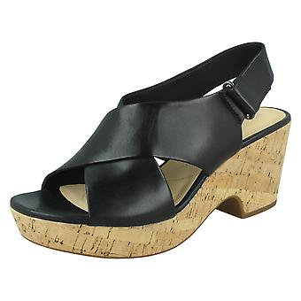 Ladies Clarks Slingback Wedge Sandals Maritsa Lara