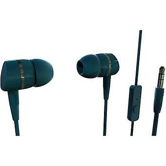 Vivanco SMARTSOUND PETROL Hi-Fi In-ear hodetelefoner I øret Bensin