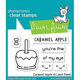 Lawn Fawn Caramel Apple Clear Stamps