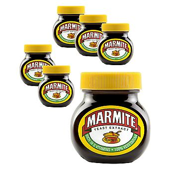 Marmite Jars 125g x 6 Smaak Tasty Food Quality Spread Classic Gis extract