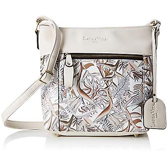 Laura Vita 2587 - Women Beige Shoulder Bags (Bg) 8.0x25.5x26.5 cm (W x H L)