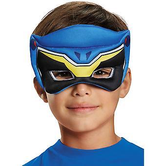 Maske For Blue Ranger Dino oppustede