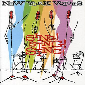 New York Voices - chanter! Chanter! Chanter! [CD] USA import