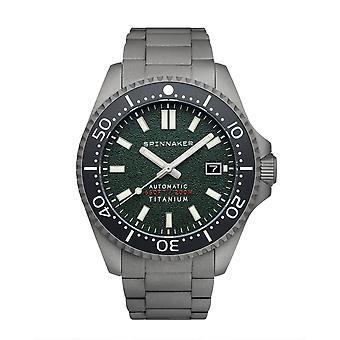 Spinnaker SP-5084-33 Gent's Tesei Titanium Green Dial Wristwatch