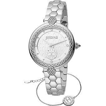 Just Cavalli Valentines Watch JC1L128M0055 - Stainless Steel Ladies Quartz Analogue