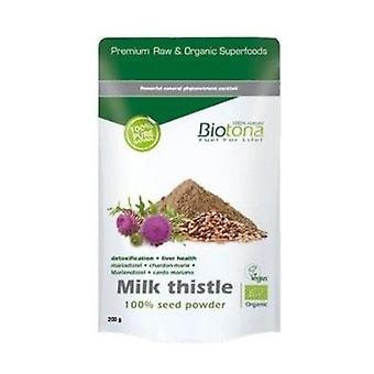 Maitotedettisiemenjauhe Maito Thistle Bio 200 g