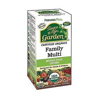 Garden Family Multi 60 tablets (Raspberry)