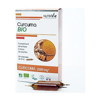 Bulbs - Organic Turmeric 20 units of 15ml
