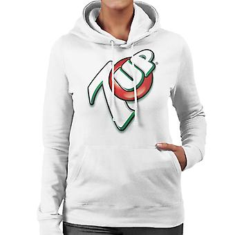 7up 00s Angled Logo Women's Hooded Sweatshirt