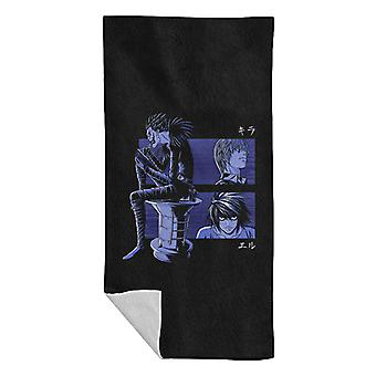 Kira L And Ryuk Deathnote Beach Towel