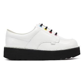 Kickers chutar o Stack White Womens sapatos