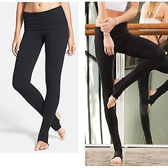 Jerf Womens Diu Black Yoga e Leggings de Dança