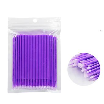 Disposable Makeup Eyelashes Brushes Micro Mascara Brush Eyelash Extension