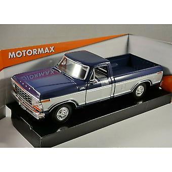 MotorMax Timeless Legends - 1979 Ford F-150 Custom  Blue & Silver
