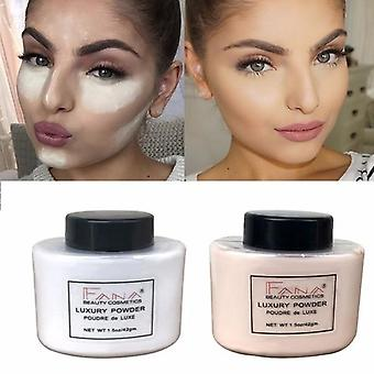 Smooth And Long Lasting Loose Powder For Natural Face Makeup With Oil Control -