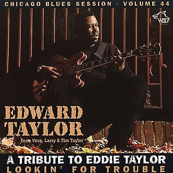 Edward Taylor - Lookin' for Trouble [CD] USA import