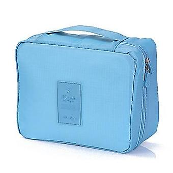 Makeup, Cosmetic Skincare Organizer, Storage Zipper Bag For Travel