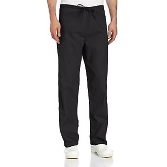Landau Comfort Stretch One-Pocket Vendbar Snor Scrub Pant, Sort, La...