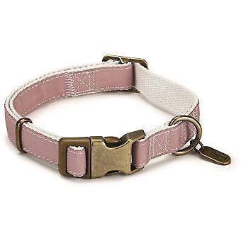 Designed By Lotte Nylon Collar - Virante Light Pink - 20mm x 35- 50cm