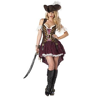 Le donne sexy Swashbuckler pirata Halloween Dress Costume