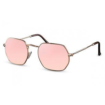 نظارات شمسية المرأة Cat.3 الذهب / الوردي (CWI2419)