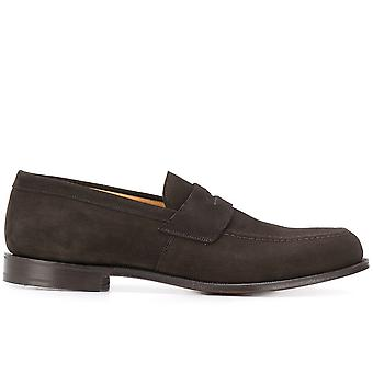 Church's Ezcr042005 Men's Brown Suede Loafers