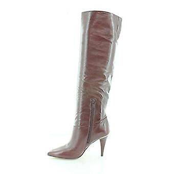Michael Michael Kors mujer Rosalyn cuero puntiagudo rodilla-high Botas