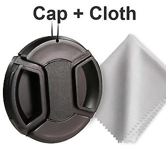 Center Pinch Snap-on Lens Cap For Canon/nikon/sony/sigma/tamron