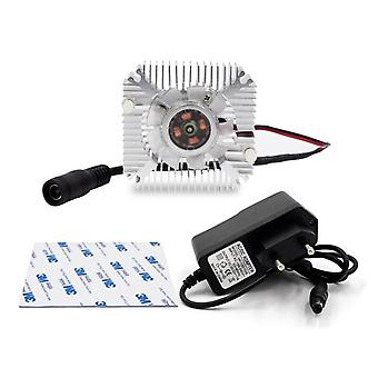 Radiator met ventilator - Aluminium heatsink voor Led Chip Kralen Heat Dissipation Eu