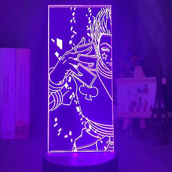 Acrylic 3d Night Light Led Color Changing Nightlight -bedroom Decoration Light
