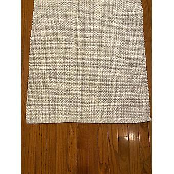 Spura Home Minimalist Woven Floor Cover Gray Runner Rug 2.5x6 para Corredor