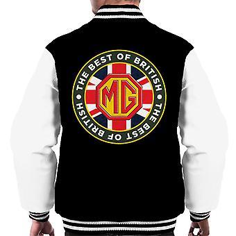 MG det beste av britiske Motor Heritage Menn's Varsity Jacket