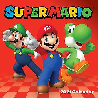 Super Mario 2021 Seinäkalenteri- tekijä Nintendo