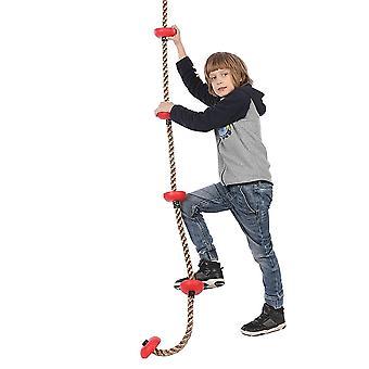 Children Climbing Ninja Rope- Ninja Line Obstacle Training Equipment Kids Fun