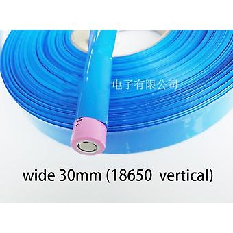 Heat Shrink Tube For 18650 Lithium Battery Wrap Cover (30mm - 130mm)