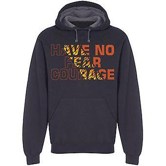 No Fear Courage Hoodie Men's -Image by Shutterstock