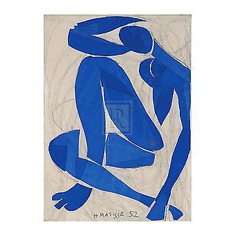 Nu Bleu IV Poster Print par Henri Matisse (24 x 32)