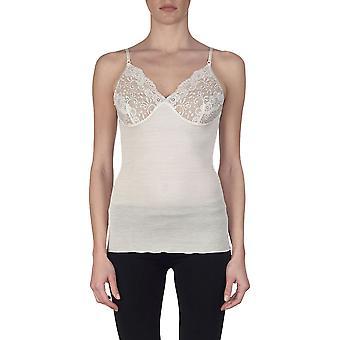 Oscalito 640 Women's Lace Spaghetti Vest Top