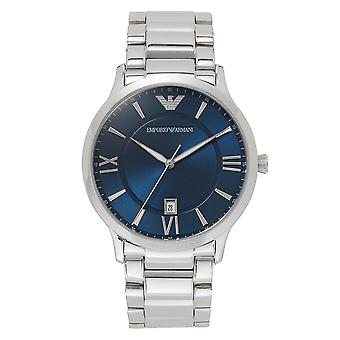 Armani Ar11227 Mens Stainless Steel Blue Watch